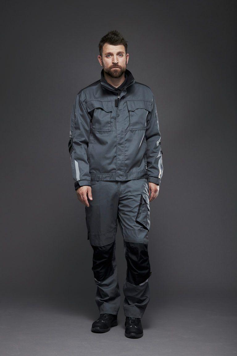 EVOBASE bukser og jakke, Grå