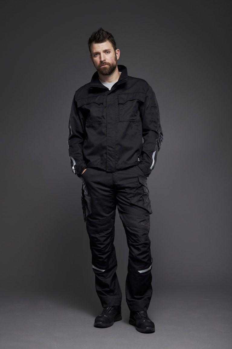 EVOBASE bukser og jakke, sort