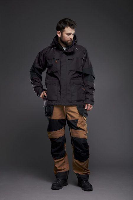 EVO35 vinterjakke og arbejdsbukser med aftagelige haengelommer